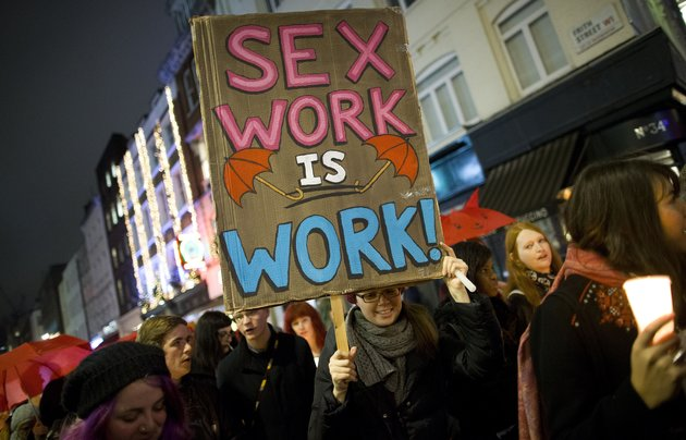 Sex workers party new orleans