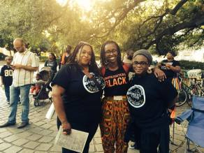 WWAV Staff at Mike Brown Rally